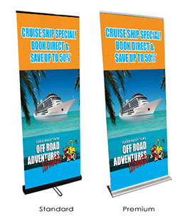 PULL UP BANNERS Australia ROLL UP BANNERS Premium Quality Roll - Vinyl banners australia